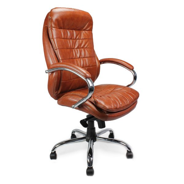 Santiago Luxury Leather Heavy Duty Office Chair | For Larger Users
